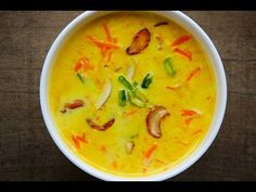 Carrot kheer - how to make Carrot Payasam - Foodvedam