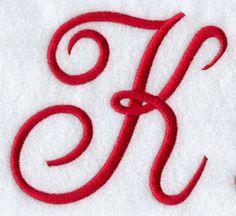 Red K monogram