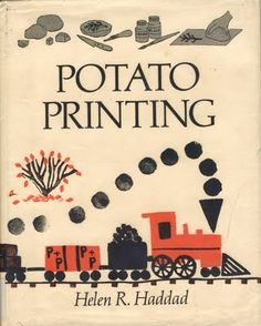 stickers and stuff: Potato Printing - Helen R Haddad