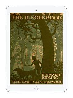 Our favorite childhood books on Epic!: The Jungle Book by Rudyard Kipling