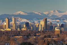 Denver and Boulder Colorado - 10 Of The Healthiest Places To Live In America