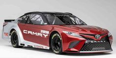 2018 Toyota Camry lends its design to new NASCAR race car #Toyota #Camry #NASCAR #racecar