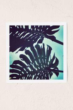 Jonathan Lo Island Lush Art Print