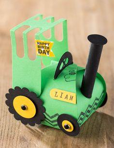 Traktor Geschenktüte
