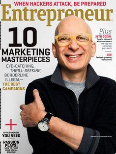Marketing Wizard Seth Godin on Success and Inspiration Seth Godin, Storytelling Techniques, Entrepreneur Magazine, Creativity Exercises, Inspirational Articles, Social Entrepreneurship, Business Magazine, Sales Tips, Time Management Tips