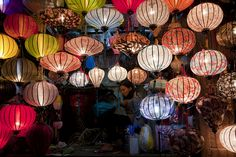 Silk Lanterns of Hoi An, Vietnam by {CP}, via Flickr