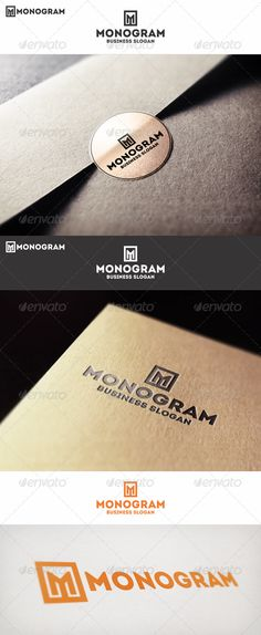 Monogram M Logo Letter Is a logo that can be used by different types of professionals, professionals design and photography, clothing and apparel brands in restaurants and bars, in agencies and studios, among other uses.