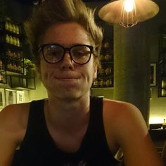 Luke+glasses = PERFECTION<<<going on a Luke in glasses... thing... that I won't regret later
