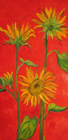 Sunflowers-Artist Joy Schultz