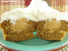 Eat Cake For Dinner: Pumpkin Mousse Cupcakes