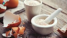 Mortar Of Crushed Eggshell, Whole And Powdered Eggshells, Natural Calcium. Stock Photo - Image of eggshells, board: 165778066 Tupperware, Egg Shells In Garden, Zucchini Plants, Pottery Houses, Large Glass Jars, Kitchen Waste, Home Vegetable Garden, Vegetables Garden, Most Nutritious Foods