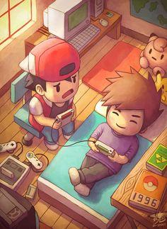 The good old Days by Ry-Spirit #Pokemon