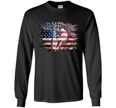 c6785a0c2 Awesome USA Patriotic American Flag US Lineman Gift T-Shirt