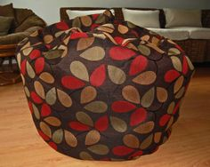 Ahh Products Spice Tree Washable Bean Bag Large -- Find out more about the great product at the image link. Kids Decor, Large Bags, Louis Vuitton Speedy Bag, Bean Bag Chair, Spice, Bag Chairs, Pattern, Cotton, Model