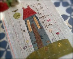 Truly ourselves at home by costureraloca, via Flickr