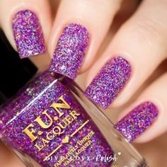 FUN Lacquer Holo Queen (H) (Simplynailogical Collection)
