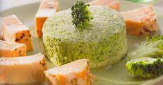 Ingredientes: 400g brócolos frescos 1000g água 1 1/2 c. chá sal 4 ovos (60g) 150g natas com 30% gordura 1/4 c. chá pimenta 1 p...