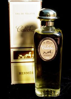Hermes' perfume Caleche by perfumer Guy Robert ~ I smelled this everywhere in Paris. THIS is what Paris smells like