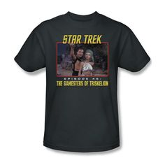 Star Trek OG Episode 46 Gamester Of Triskelion Youth Ladies Jr Men T-shirt Top #Trevco #GraphicTee