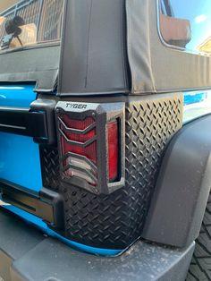 Jeep Wrangler Accessories - Tail Light Guards Covers Custom Fit 2007-2018 Jeep Wrangler JK  Textured Black  Cast Aluminum Alloy  Powder Coated Jeep Wrangler Lights, Jeep Wrangler Tj, Jeep Jk, Jeep Wrangler Accessories, Jeep Stuff, Light Covers, Jeep Life, Tail Light, Aluminium Alloy