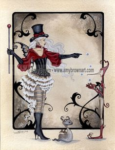 Shadow Circus Fairy PRINT The Juggler 8.5x11 by Amy Brown. $14.00, via Etsy.
