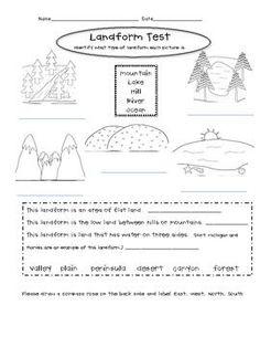 landforms worksheet 2 homeschooling earth science pinterest worksheets geography and. Black Bedroom Furniture Sets. Home Design Ideas