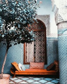 What IS a riad? Explaining the indoor/outdoor mix of the Moroccan courtyard (photoshoot in an abandoned Marrakech riad)