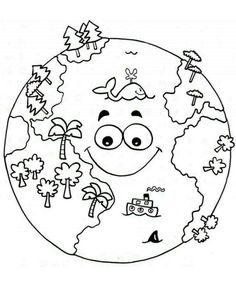 Top 20 Free Printable Earth Day Coloring Pages Online – Art World 20 Earth Day Coloring Pages, Space Coloring Pages, Coloring Pages To Print, Coloring Books, Earth Day Projects, Earth Day Crafts, Art Projects, Earth Day Activities, Activities For Kids