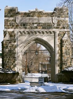 Entrance Arch at Drew University in New Jersey