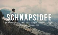 So eine Schnapsidee!  21 Perfect #German Words We Need In English