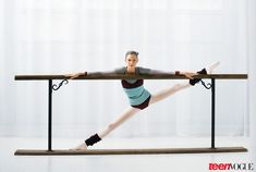Before breaking into the modeling world, Karlie was using her graceful gams for another purpose: ballet!