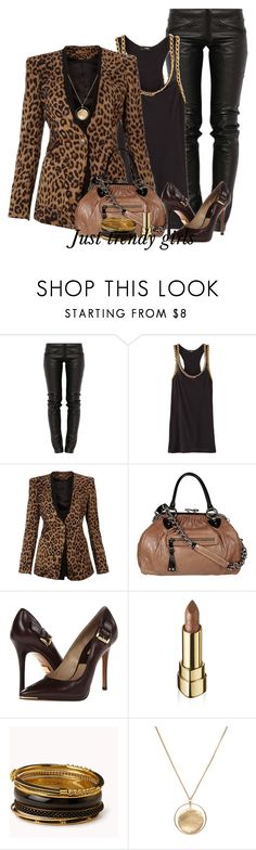 """leopard outfit"" by justtrendygirls ❤ liked on Polyvore featuring Preen, Chanel, Jolie Moi, Marc Jacobs, Michael Kors, Dolce&Gabbana, Forever 21 and Tokyo Jane"