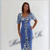 Купить или заказать Платье по мотивам Escada в интернет-магазине на Ярмарке Мастеров. Платье выполнено крючком и спицами. По желанию может прилагаться подъюбник телесного цвета. Цена подъюбника 200 руб.