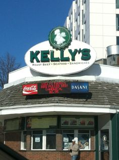 Kelly's Roast Beef in Revere, MA...right across from the beach..love this place...