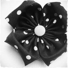 Fabric flower.