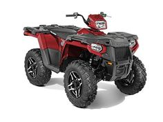 Used 2015 Polaris Sportsman 570 SP EPS Sunset Red ATVs For Sale in Wisconsin.