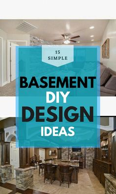 Basement Decor ! Tips For Styling Your Dream Basement #basementideas #basementdesign Basement Decorating, Basement Remodeling, Diy Design, Design Ideas, Decoration, Diy Home Decor, Decor Ideas, Elegant, Amazing