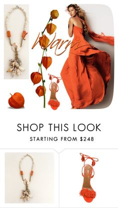 """""""Warm"""" by sibaru ❤ liked on Polyvore featuring Aquazzura, women's clothing, women, female, woman, misses and juniors"""