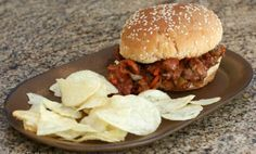 The Wonderfully 'Sloppy' Slow Cooker BBQ Sandwich
