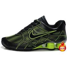 new concept d71fb eab04 Offers You The Latest Styles Nike Shox Men Green Black Shoes Top Seller