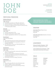 colors on resume - Resume Template Color