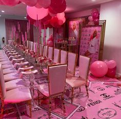 18th Birthday Party Themes, 17 Birthday, Sleepover Birthday Parties, Birthday Goals, Birthday Balloon Decorations, Birthday Party For Teens, Barbie Birthday, Birthday Brunch, Birthday Dinners