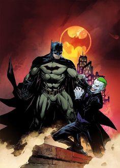 Ed Benes también nos ofrece un vistazo al #Joker de DC Rebirth #DCCómics #Batman