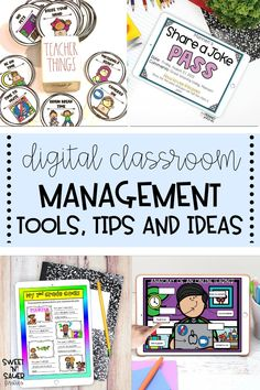 Classroom management is so crucial in every elementary classroom, whether you're physically in the classroom or distance learning! In case you're teaching virtually, I'm sharing ideas, ticks, tricks and technology hacks for managing your classroom digitally this school year. This includes goal setting, creating a positive classroom community, parent involvement, using Google, and so much more!
