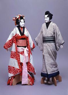 Japanese Puppets Bunraku | Bunraku Puppets