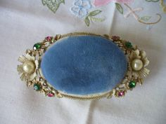Vintage Florenza Pincushion Trinket Box by Reminisce47 added this to my actual collection