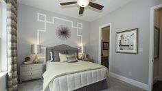Adore the decor in this bedroom! Perfect for a guest room