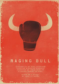 Day 196: Raging Bull #amovieposteraday
