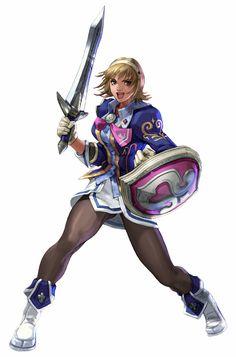 Cassandra from Soul Calibur 3 Soul Calibur 3, Video Game Characters, Fantasy Characters, Female Characters, Pixel Characters, Female Character Design, Character Concept, Character Art, Game Art