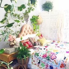 """""""It may be, when we no longer know what we have to do, we have come to our real work...and that when we no longer know which way to go, we have come to our real journey"""" Wendell Berry #boho #jungalow #bohemian #bedroom #homedecor #homedecorating #suzani #interiordesign #design #bohoismyjam"""